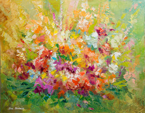 Whisper of Spring —  Oil Painting on Canvas by Leon Devenice