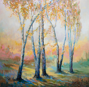 The Spirit Of Autumn — Oil Painting on Canvas by Leon Devenice