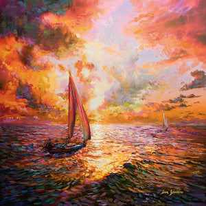 Ocean paintings,sailboat paintings
