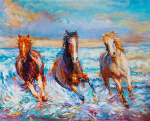 horse painting,horse art