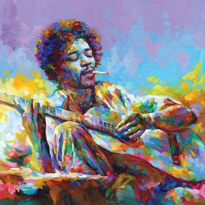 Jimi Hendrix painting (SOLD)