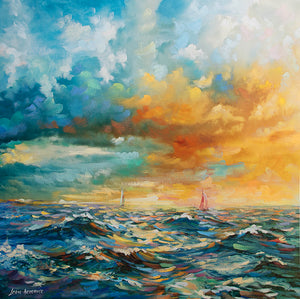 sea art, sea painting ,