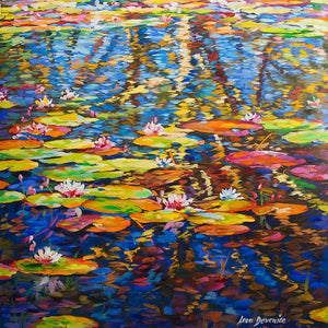 Soul Reflections — Oil Painting on Canvas by Leon Devenice