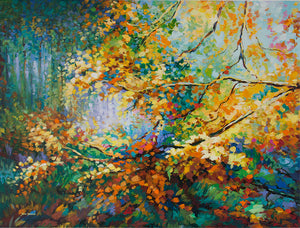 autumn painting,fall painting