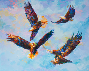 eagle painting,eagle art