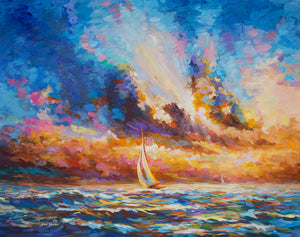 ocean painting,seascape painting