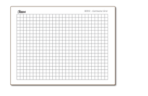 "Centimeter Graph Grid 9"" x 12"" - BOARDS ONLY - B0912-2X"