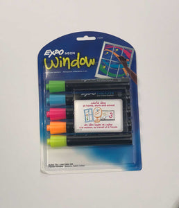 EXPO NEON Dry Erase Markers  item # ME138