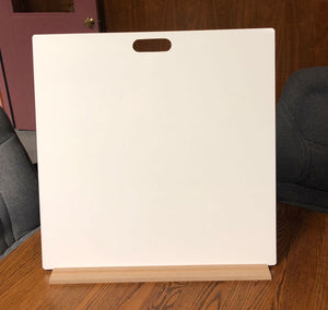 "BLANK UNLINED DOUBLE SIDED DRY ERASE,  24"" x 24"" Student Whiteboards - M2424-2x-H - $15 each"