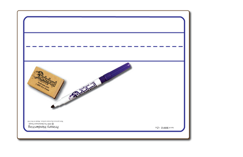 PRIMARY HANDWRITING DOUBLE SIDED DRY ERASE,  9