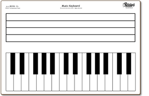 MUSIC KEYBOARD - BOARDS ONLY - ZK1116-2x