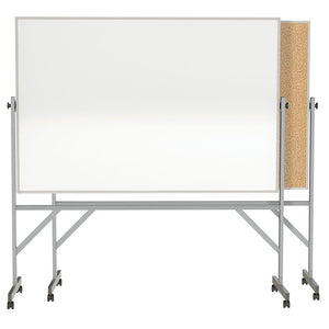 FRAMED REVERSIBLE FREE STANDING Dry Erase Boards