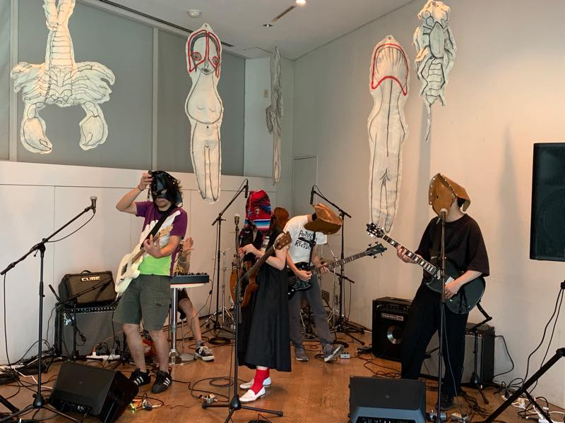 Movie: THE TETORAPOTZ Live Performance @ Hara Museum