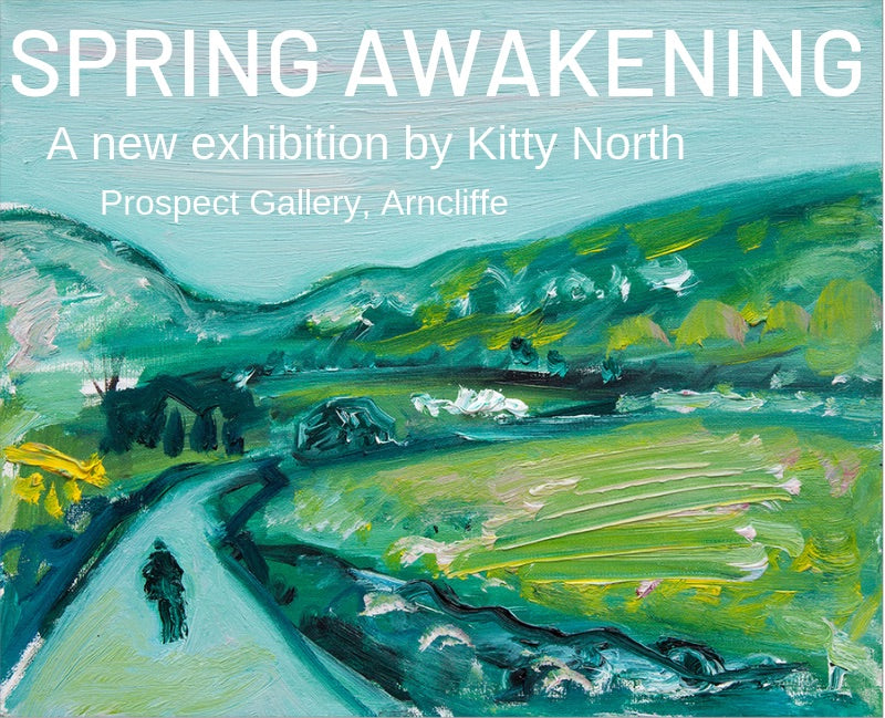 Spring Awakening - a new exhibition by Kitty North