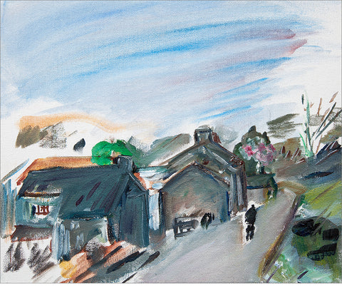 Late Afternoon on Storiths Lane - SOLD