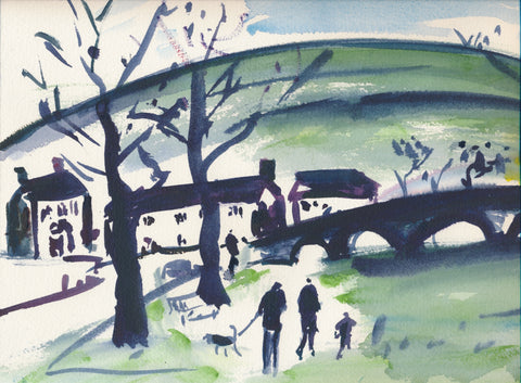 Family Outing to Burnsall - SOLD