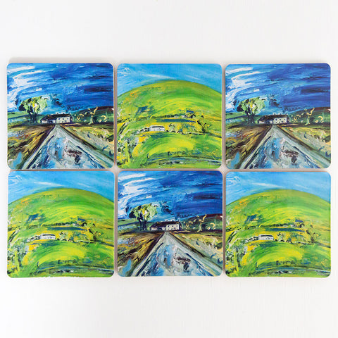 Yorkshire Dales Farmhouse Coasters