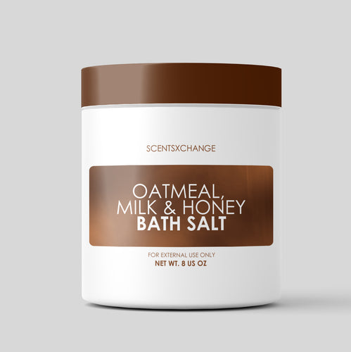 Oatmeal, Milk, & Honey Bath Salt