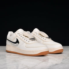 new products 2f7c1 8a142 Nike Air Force 1 Low Travis Scott Sail Shoes
