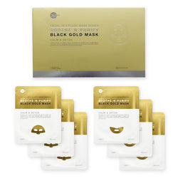 Soothe & Purify Black Gold Mask*