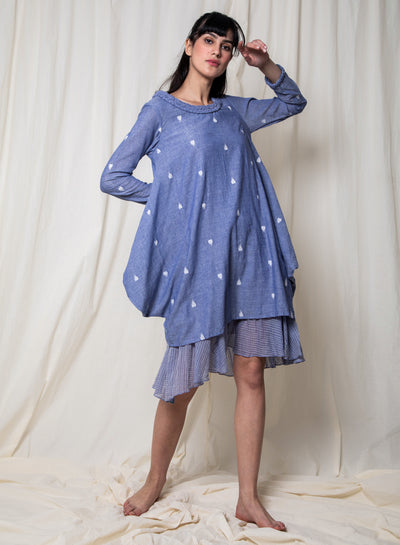 Shallaki women's shirt dress