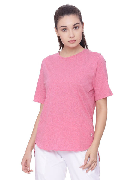 WOMENS ORGANIC COTTON TEE- BOX TEE
