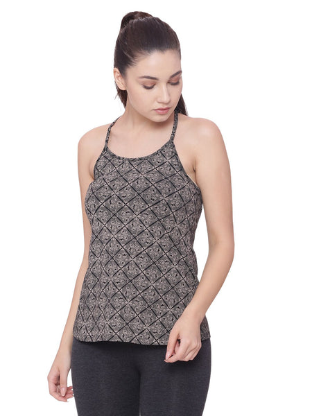 Womens Organic Cotton Tank Top- Lotus Tank