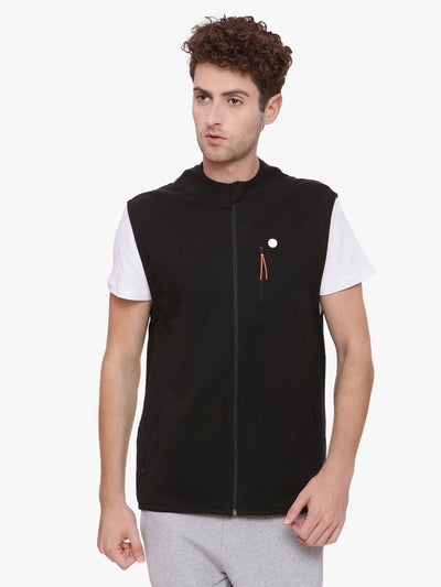 MEN'S ORGANIC COTTON JACKET - SOJOURN GILLET - mysoulspace.in