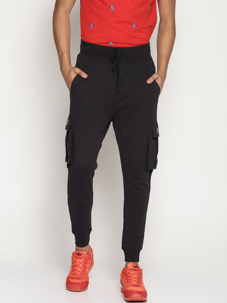 Men's Fashion Organic Cotton French Anti-Fit Joggers - Muon Joggers - mysoulspace.in