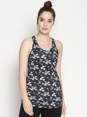 WOMENS ORGANIC COTTON TANK TOP - JASMINE ENERGY TANK - mysoulspace.in