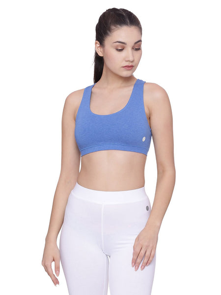 WOMENS ORGANIC COTTON SPORTS BRA- CHASER BRA - mysoulspace.in