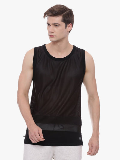 MENS ORGANIC COTTON VEST - ROCKING VEST - mysoulspace.in