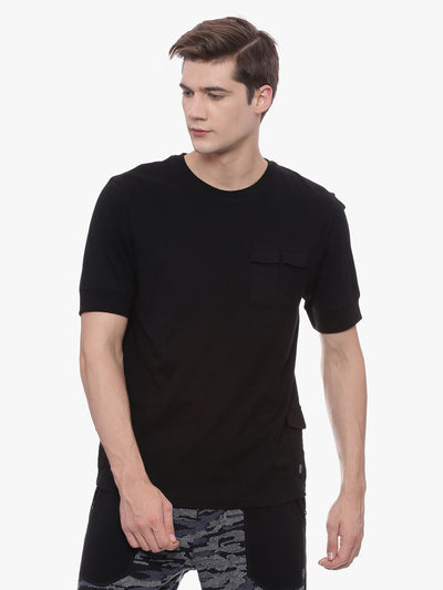MENS ORGANIC COTTON UTILITY TEE- METTLE TEE - mysoulspace.in