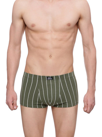 MENS ORGANIC COTTON  UNDERWEAR - Striped trunk - mysoulspace.in