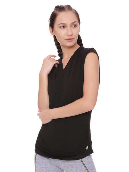 Womens Organic Cotton Top-Wrap Top - mysoulspace.in