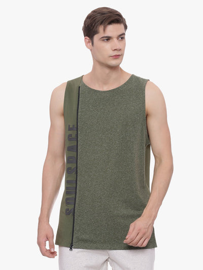 MENS ORGANIC COTTON VEST - ROCK N ROLL VEST - mysoulspace.in
