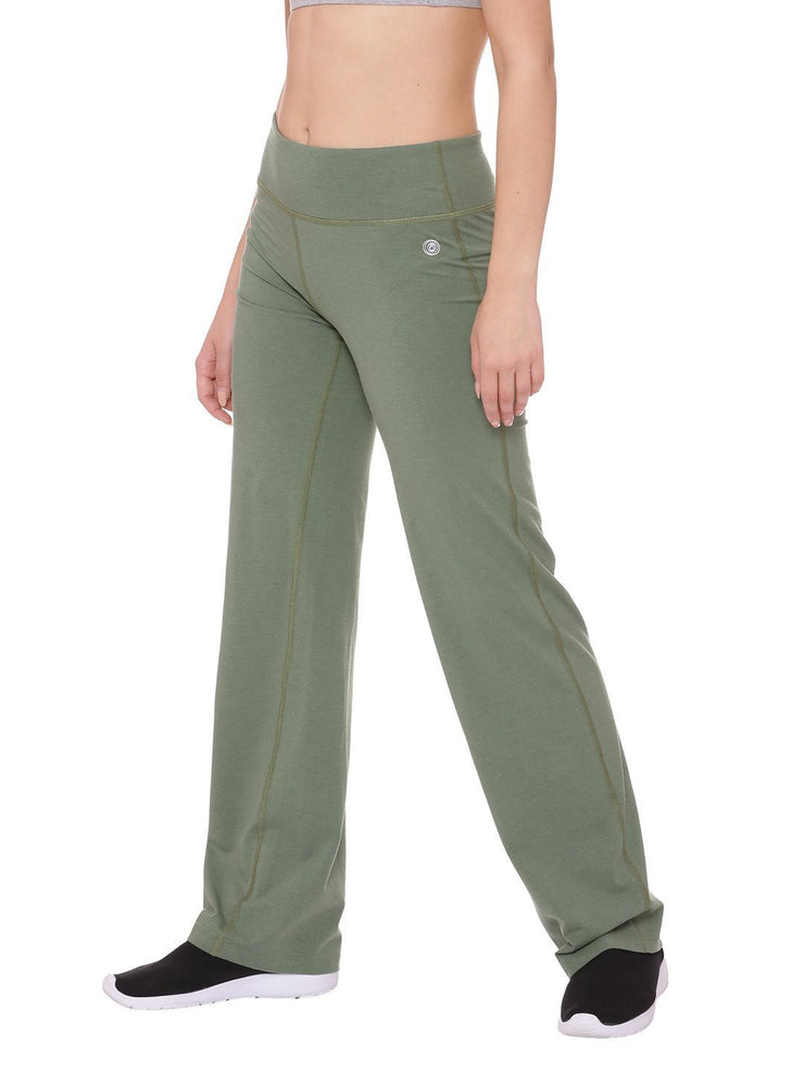 Womens Organic Cotton Yoga Pants- Peace Yoga Pants - mysoulspace.in