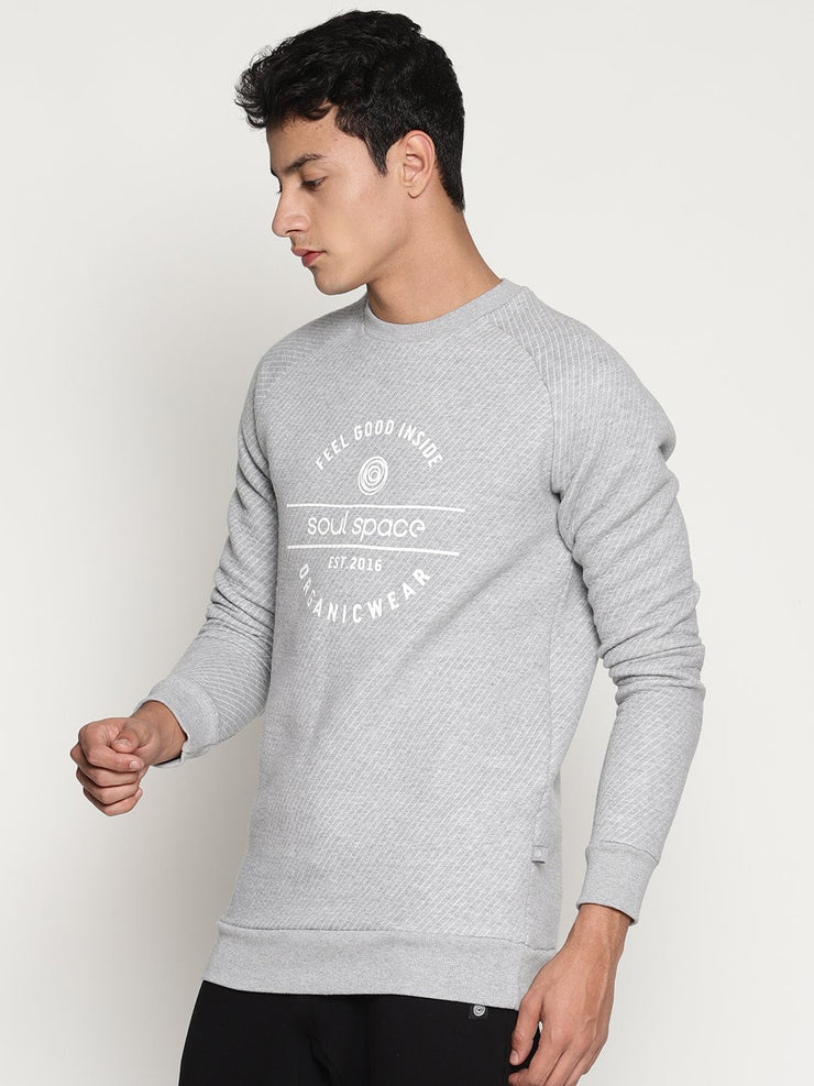 Men's Organic Cotton Sweatshirt- Aero Sweat - mysoulspace.in