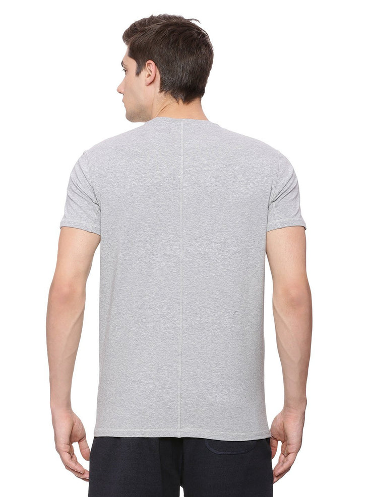 Mens Stretch Jersey Slim Fit Tee - Propel Tee - mysoulspace.in
