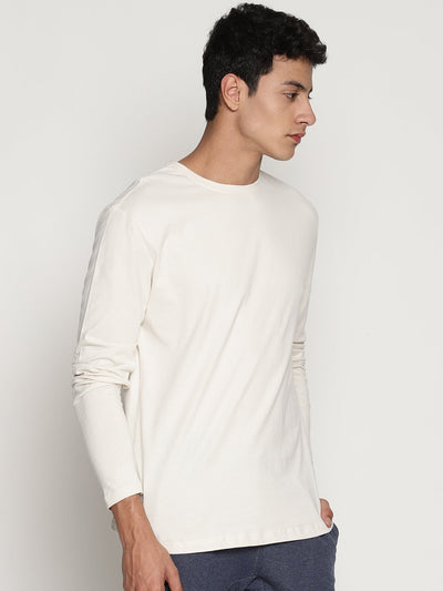 Men's Organic Cotton Solid Round Neck Tee - Surge Tee - mysoulspace.in