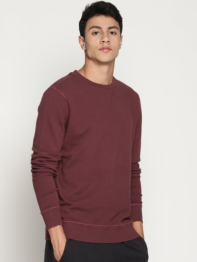Men's Organic Cotton Classic Sweatshirt- Aero Sweat - mysoulspace.in