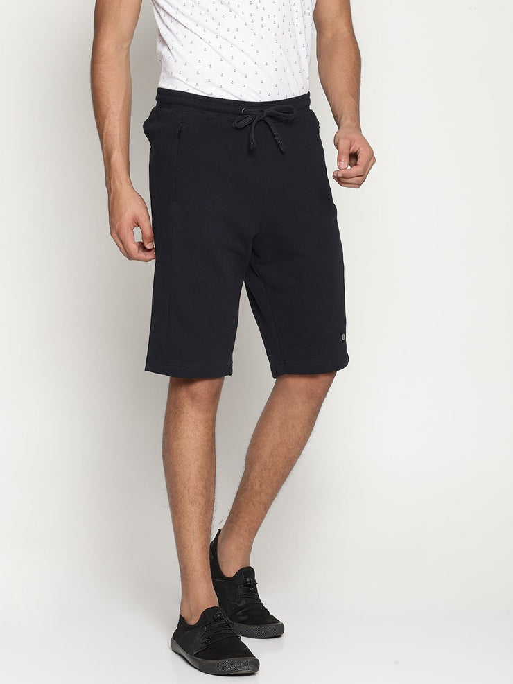 Men's Organic  Essential Active Knit Shorts - Athletic Shorts - mysoulspace.in