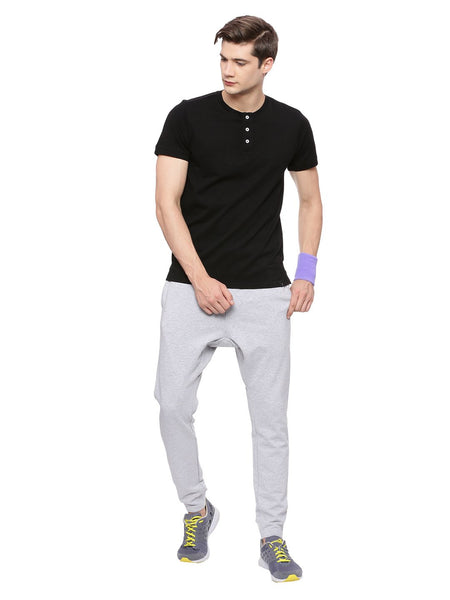 MENS ORGANIC COTTON HENLEY T SHIRT - ACTIVE HENLEY - mysoulspace.in