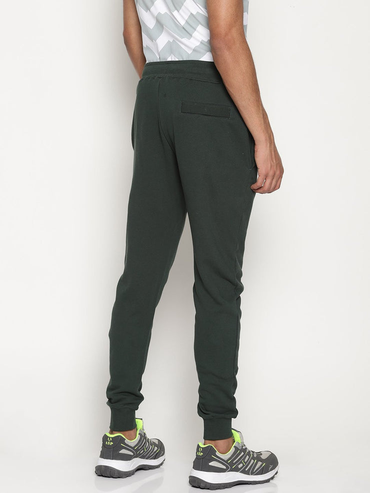 Men's Essentials Organic Cotton French Terry Slim Fit Joggers - Force Joggers - mysoulspace.in