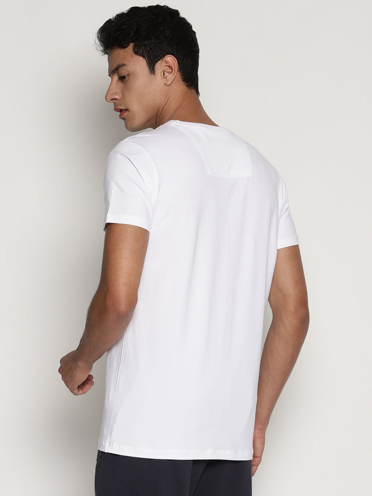Men's Organic Cotton  Printed Round Neck Tee - Ray Tee - mysoulspace.in