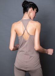 LONG STRAPPY-BACK TANK