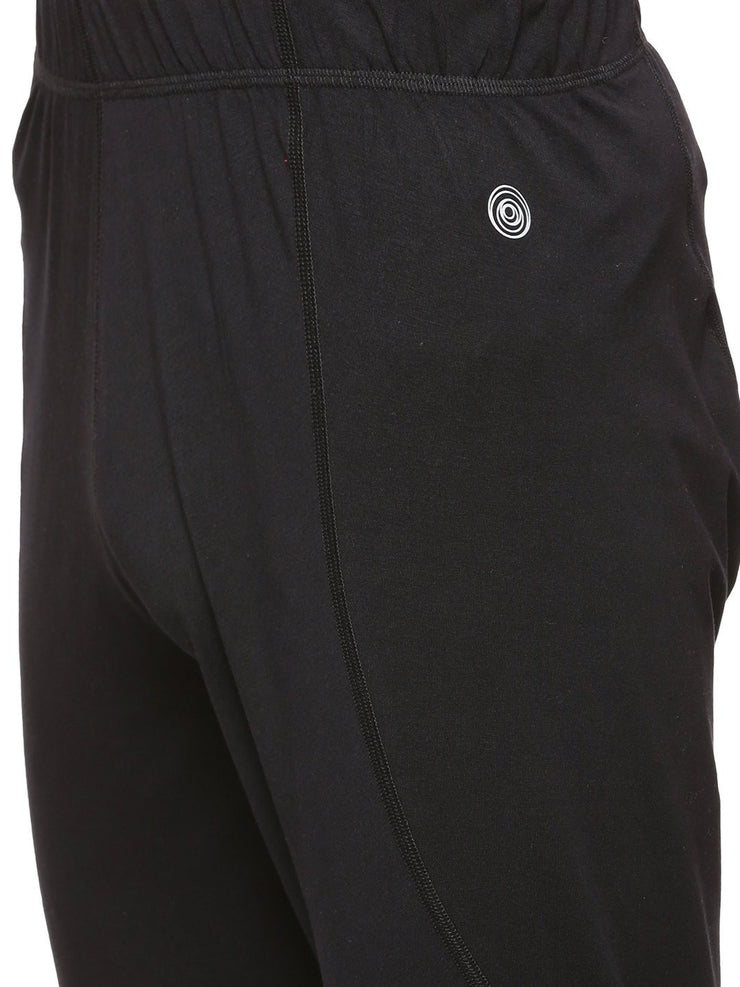 Mens Organic Cotton Stretch Yoga Tights - Vigour Tights (Full) - mysoulspace.in