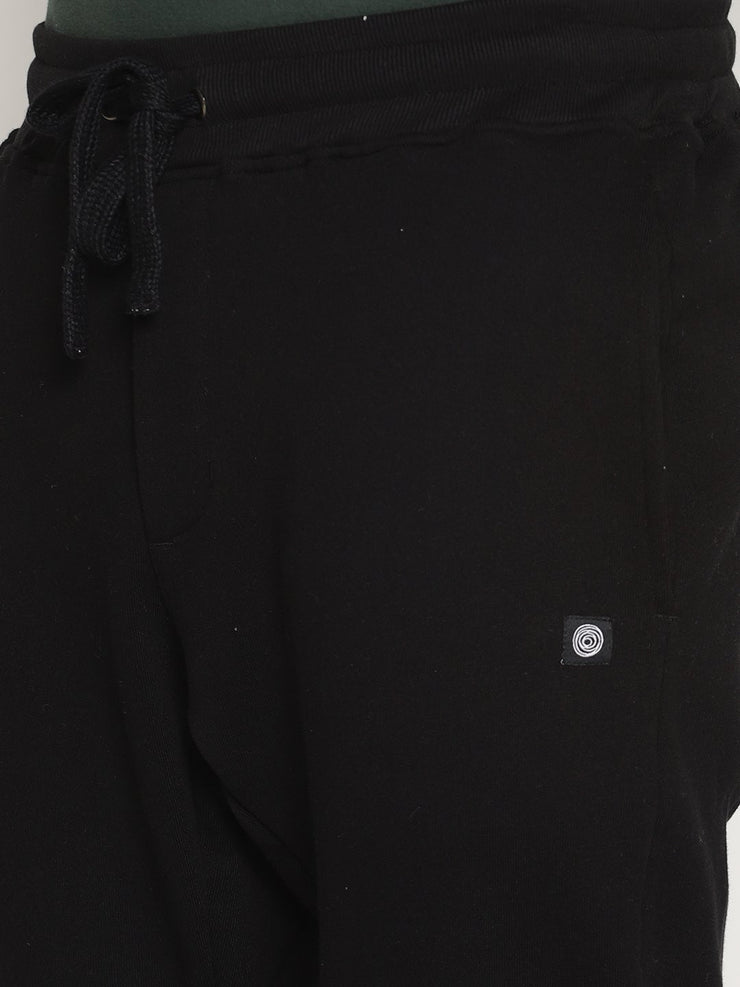 Men's Essential Organic Cotton French Terry Tapered Fit Joggers - Quantum Joggers - mysoulspace.in