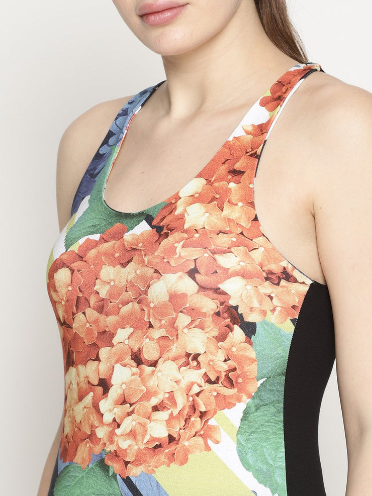 WOMENS ORGANIC COTTON TANK TOP - FLORA - mysoulspace.in