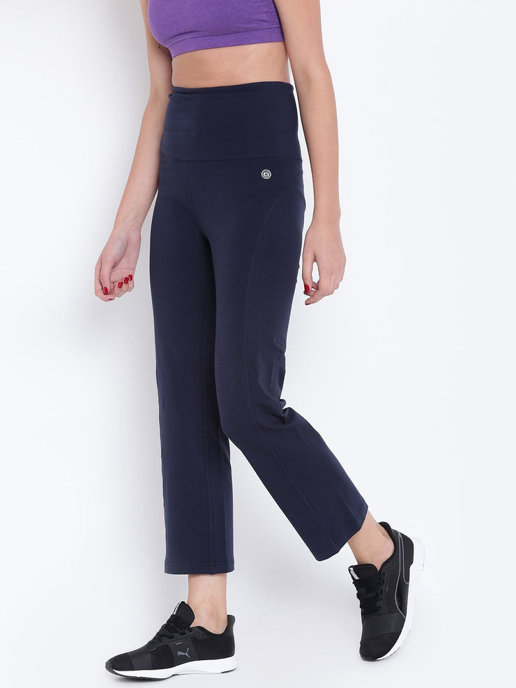Womens Organic Cotton Stretch Yoga Pants-Flux Yoga Pants - mysoulspace.in